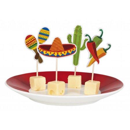 Mexicaanse Cocktailprikkers Fiesta