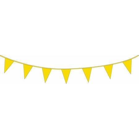 Vlaggenlijn Geel (10m)