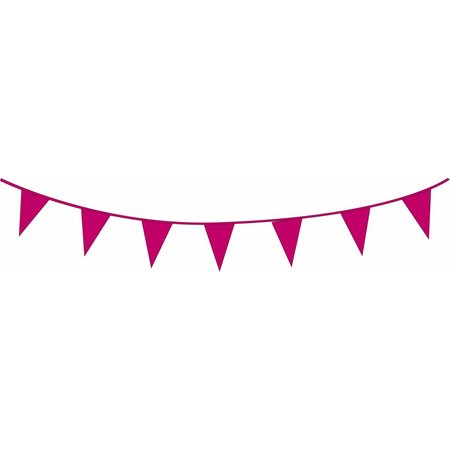 Vlaggenlijn donker roze (10m)