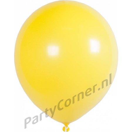 """Ballonnen 9"""" Geel"""