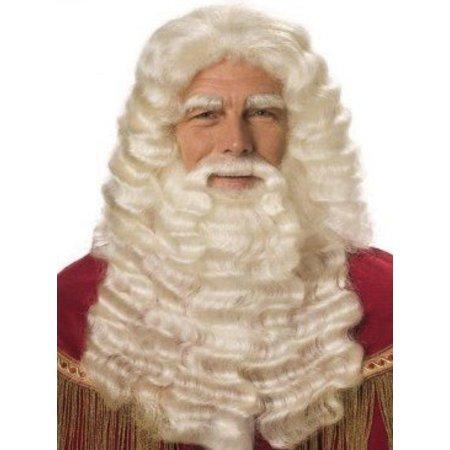 Sinterklaas baard buffelhaar extra lang