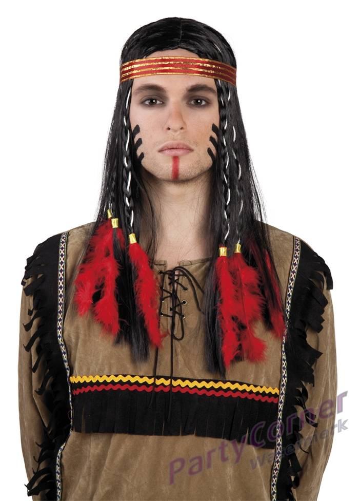 indianen pruik lakota. Black Bedroom Furniture Sets. Home Design Ideas