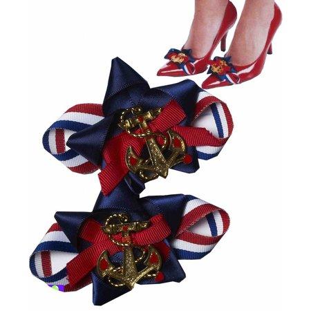 Schoenen gesp met anker