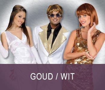 Goud / Wit