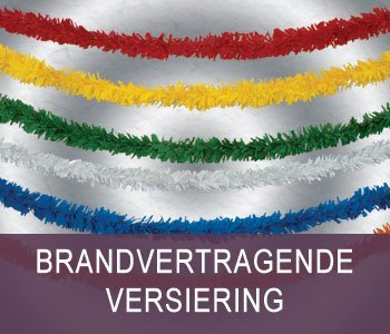 Brandvertragend Versiering