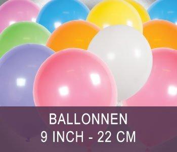 Ballonnen 9 inch / 22.8 cm