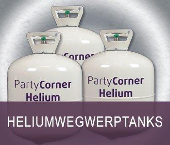 Helium wegwerptanks