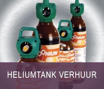 Heliumtank verhuur