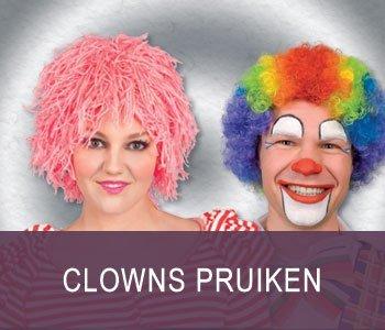 Clowns pruiken