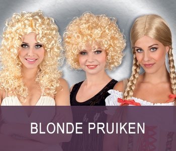 Blonde pruiken