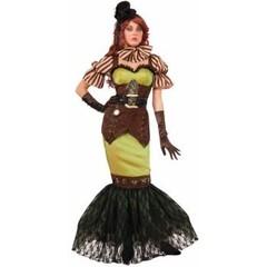 Steampunk kleding Fairy Siren