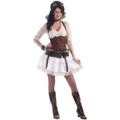 Steampunk kleding Sally