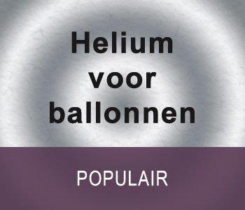 Helium voor ballonnen