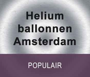 Helium ballonnen Amsterdam