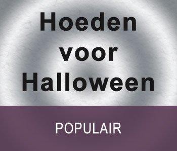Hoeden voor Halloween