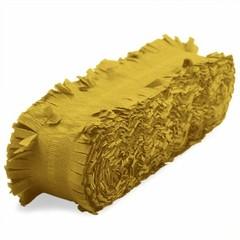Brandvertragende crêpe papieren slinger goud