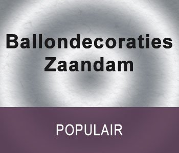 Ballondecoraties Zaandam