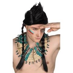 Heren Indianen ketting squaw
