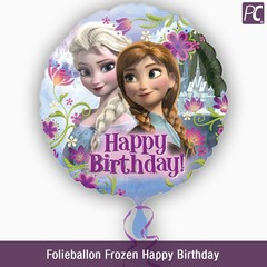 Folieballon Frozen Happy Birthday
