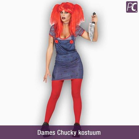 Dames Chucky kostuum