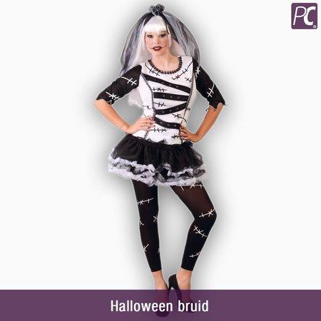 Halloween bruid kostuum