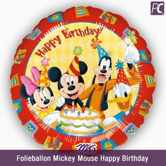 Folieballon Mickey Mouse Happy Birthday