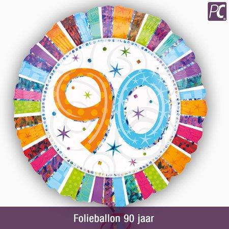 Folieballon 90 jaar