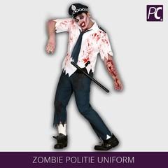 Zombie politie uniform