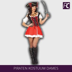 Piraten kostuum dames