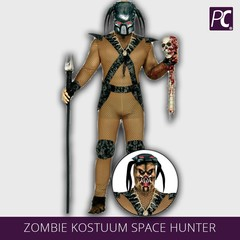 Zombie kostuum Space hunter