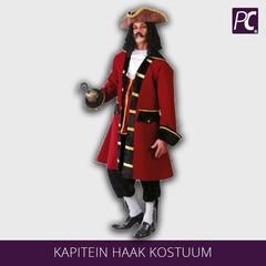 Kapitein haak kostuum