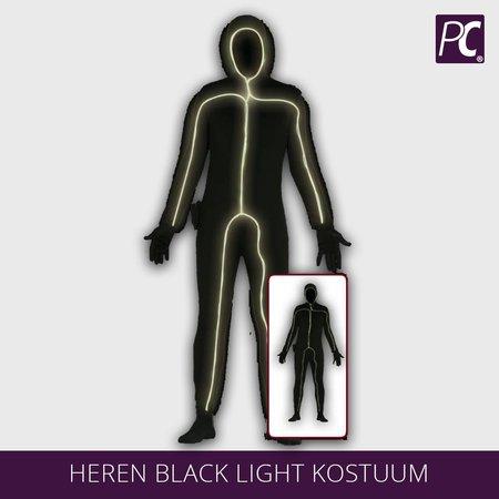 Heren black light kostuum