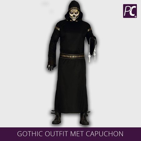 Gothic outfit met capuchon