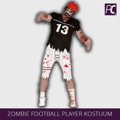 Zombie Football Player kostuum