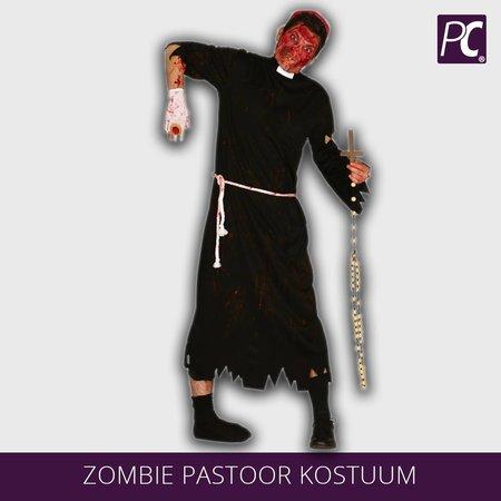 Zombie Pastoor kostuum