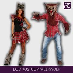 Duo kostuum weerwolf