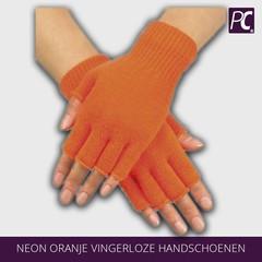 Neon oranje vingerloze handschoenen
