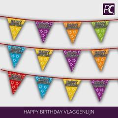Happy Birthday vlaggenlijn