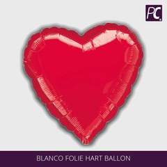 blanco Folie hart ballon