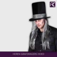 Heren grafdragers hoed
