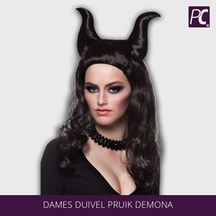 Dames duivel Pruik Demona