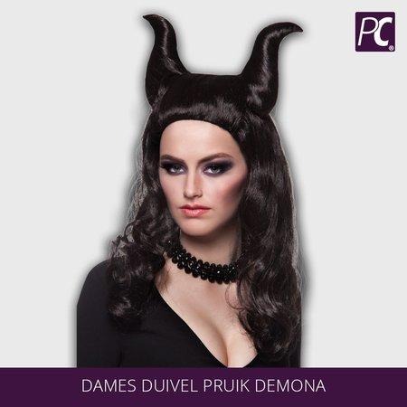 Dames duivel Pruik Demona