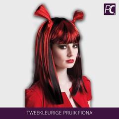 Tweekleurige Pruik Fiona