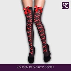 Kousen red crossbones