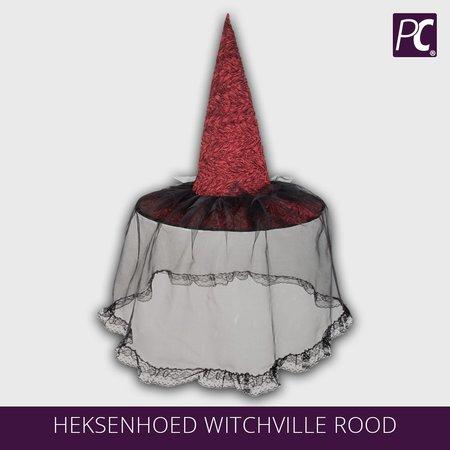 Heksenhoed met kant Witchville