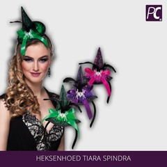 Heksenhoed Tiara Spindra