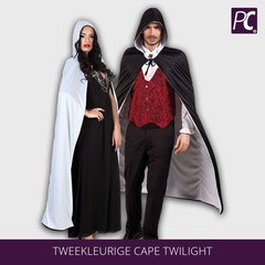 Tweekleurige cape Twilight