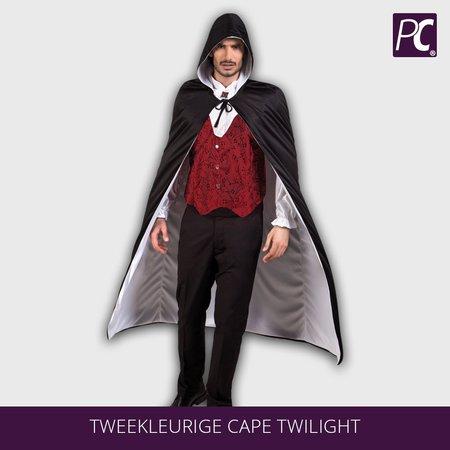 Tweekleurige cape Twilight