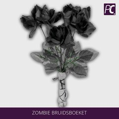Zombie bruidsboeket
