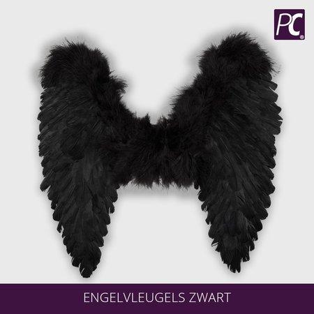 Engelvleugels zwart